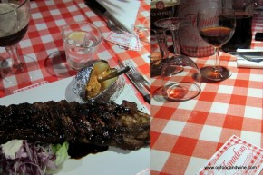 Amadeo #ribs restaurant in #Brussels @onfoodandwine