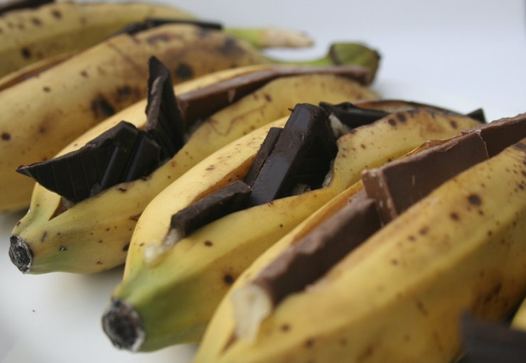 Bananas. Chocolate. BBQ. - on food & wine