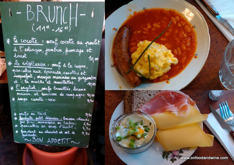 Brunch in Brussels at Le Dillens by @onfoodandwine