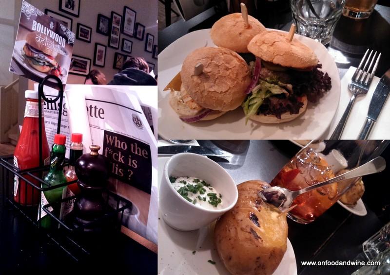 Ellis Burger restaurant in #Brussels by @onfoodandwine