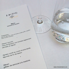 Notos - #restaurant in #Brussels review @onfoodandwine