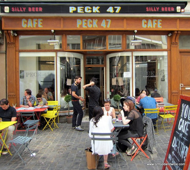 Peck 47 #restaraurant review Brussels @onfoodandwine
