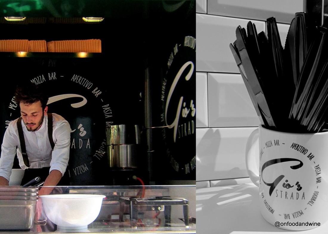 eating #Italian at Gio Strada #foodtruck in #Brussels - by @onfoodandwine