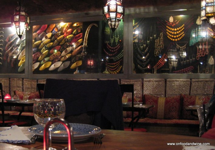 eating out at at La Khaima in #Brussels - #restaurant review by @onfoodandwine