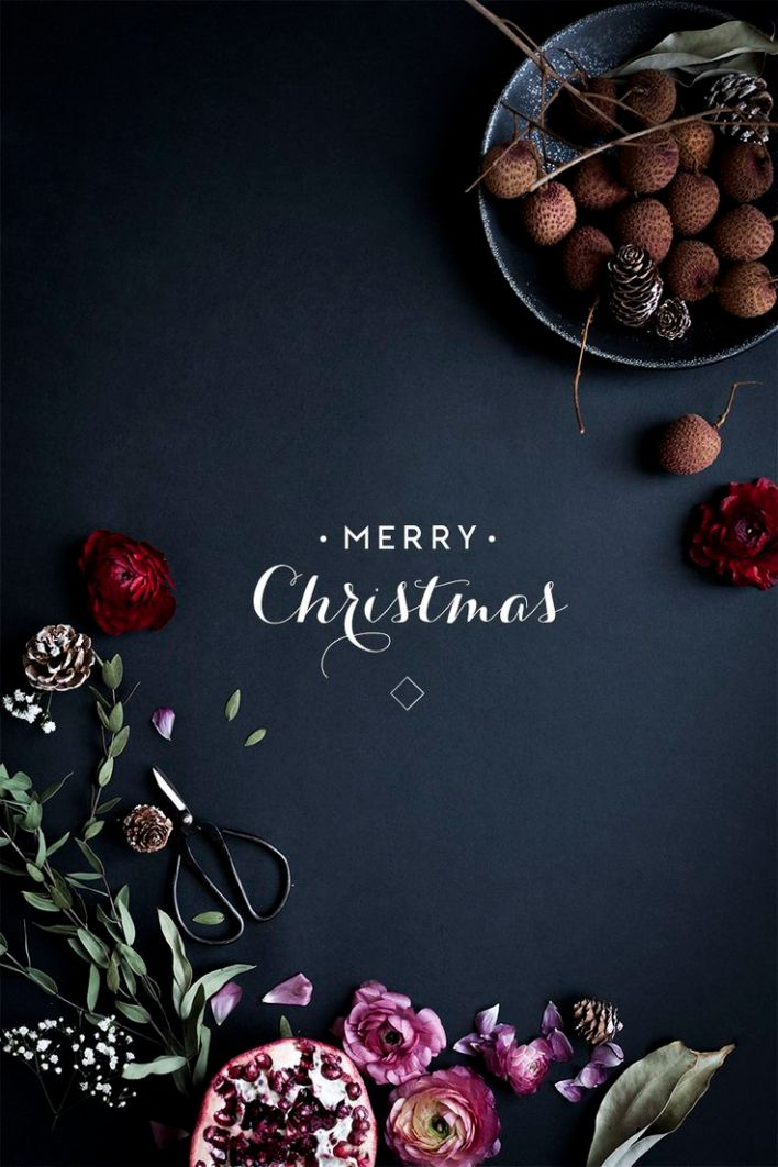 Merry Christmas via Pinterest @onfoodandwine